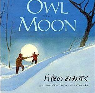 ヨーレン詩 ショーエンヘール絵『月夜のみみずく』